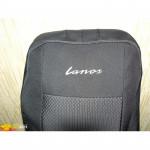 Чехлы сиденья DAEWOO LANOS с 1996 го фирмы Элегант - модель Classic