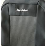Чехлы для Fiat Doblo II 1+1 2005-2010 (шт.)- Автоткань - Союз Авто