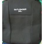 Чехлы для Mitsubishi Outlander XL 2 2010-2012 (шт.)- Автоткань - Союз Авто