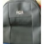 Чехлы для Skoda Fabia Mk2 ambiente 2007-> (шт.)- Автоткань - Союз Авто