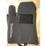 Коврики текстильные SEAT CORDOBA с 2006 серые в салон