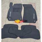 Коврики текстильные Volkswagen PASSAT [B5] с 1996-2002 серые в салон