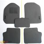 Коврики текстильные BYD F3 серые в салон