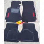 Коврики текстильные BMW 7 [E38] июль 1994 - 2001 черные в салон