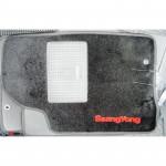 Коврики текстильные SSANG YONG KYRON с 2005 черные в салон