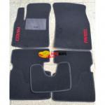 Коврики текстильные CHEVROLET AVEO T200/T250 с 2003-2011 черные в салон