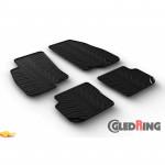 Резиновые коврики Gledring для Fiat Punto 2014->