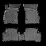 Ковры салона Hyundai Santa Fe class ТАГАЗ (06-) полиуретан (резиновые) - Лада Локер