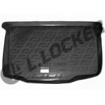 Коврик в багажник Geely LC хетчбек (12-) - твердый Лада Локер