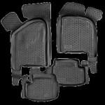 Коврики в салон ВАЗ 2170 серые полиуретан (резиновые) комплект Lada Locker