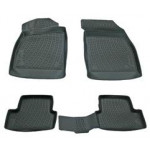 Коврики в салон Chevrolet Cruze (09-) полиуретан (резиновые) комплект Lada Locker