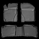 Коврики в салон Geely MK (07-) полиуретан (резиновые) комплект Lada Locker