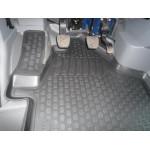 Коврики Volkswagen Crafter пер (07-) полиуретан (резиновые) комплект Lada Locker