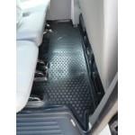 Коврики Volkswagen Transport/Multiv/Carav 2ряд (02-) полиуретан (резиновые) Lada Locker