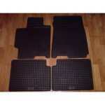 Резиновые коврики MAZDA 323 BJ 1998 черные ПЕРЕДНИЕ 2 шт - Petex