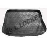 Коврик в багажник Kia Ceed хетчбек (06-) (пластиковый) Lada Locker