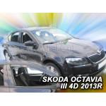 Ветровики на Skoda OCTAVIA III 5D 2013R->универсал LTB два передних - HEKO