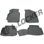 Коврики Chevrolet Lacetti (04-) полиуретан (резиновые) L.Locker