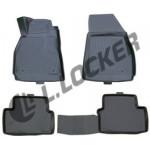 Коврики Chevrolet Malibu седан (11-) полиуретан (резиновые) L.Locker
