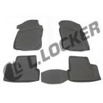 Коврики Daewoo Nexia (05-) полиуретан (резиновые) L.Locker