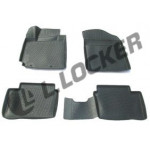 Коврики Kia Picanto (11-) полиуретан (резиновые) L.Locker