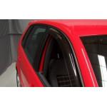 Ветровики VW POLO IV (для трехдверного) 2005 ДЫМЧАТЫЙ 2 ШТ. - EGR