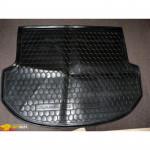 Ковер в багажник HYUNDAI Santa-Fe корот.база (2012>) (5мест)- твердый - AvtoGumm
