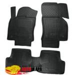 Коврики в салон SEAT Leon с 2012 5 дверей резиновые - AvtoGumm