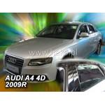 Дефлекторы окон AUDI 4D A4 2009R.->(+OT) седан - вставные Heko