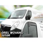 Ветровики для OPEL MOVANO 2010R.-> / RENAULT MASTER 2010R.->(OPK)
