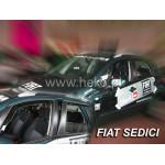 Ветровики для FIAT SEDICI 5D 2007r. -> / SUZUKI SX 4 5D 2006r -> два передних - вставные - Heko