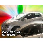Ветровики для VW GOLF VII 5D 2012R.-> вставные 2шт.пер. - Heko