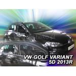 Ветровики для VW GOLF VII VARIANT 5D 2013R->(+OT) - вставные - Heko