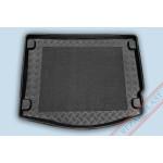 Ковер в багажник FORD Focus хетчбек 2011- твердый с резиновой вставкой Rezaw Plast