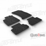 Резиновые коврики Gledring для Audi Q5 (mkII) 2017>