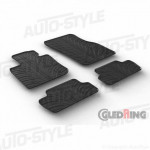 Резиновые коврики Gledring для Mini Cooper (3 door)(F56) 2014> manual