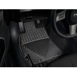 Ковры салона Subaru Forester 2013- задние, черные - Weathertech