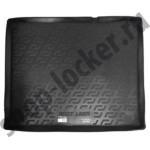 Коврик в багажник Fiat Doblo II (15-) полиуретан - ТЭП - мягкие - Lada Locker