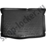 Коврик в багажник Hyundai I20 II (15-) полиуретан - ТЭП - мягкие - Lada Locker