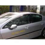 Дефлекторы окон Peugeot 407 2004-2011 универсал - HIC