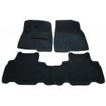 Коврики для Toyota Highlander (5мест) 2013 - технология 3D - Boratex