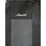 Чехлы на сиденья Hyundai Accent комфорт корея сборка с 2011 г. 1/3 спина /передний подлокотники/ 5 подголовников - Ав-Текс