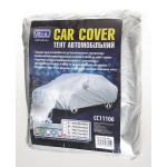 Тент автомобильный CC11106 XXL седан /серый/ Polyester/ 572х203х120