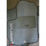 Коврики текстильные Mitsubishi Outlandar XL 2007-2012 серые