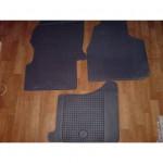 Резиновые коврики MERCEDES SPRINTER 2006 черные 2 шт - Petex