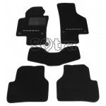 Двошарові килимки Volkswagen Passat CC (A6-A7) 2008-2017 - Premium 10mm Black Sotra