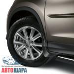 Брызговики Honda CR-V 2012-, полный кт 4шт - оригинал