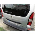 Citroen Berlingo 2008+ накладка защитная на задний бампер полиуретановая 2008+