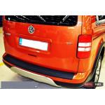 Volkswagen Caddy накладка защитная на задний бампер полиуретановая 2003+