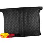 Ковер в багажник FIAT Doblo (2010>) (5,7 мест) корот. база - резиновый Avto-Gumm